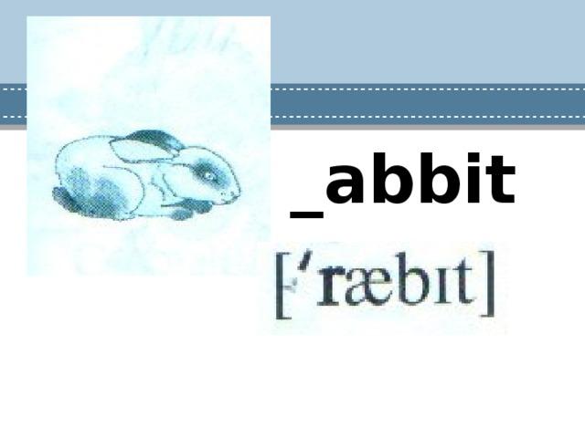 _abbit