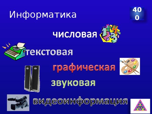 Информатика 400