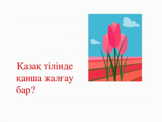 Қазақ тілінде қанша жалғау бар?
