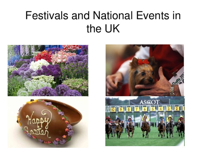 Festivals and National Events in the UK