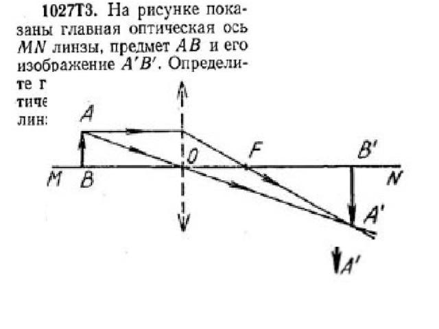 Решение задач по теме линзы 8 класс решения задач с прямоугольным параллелепипедом