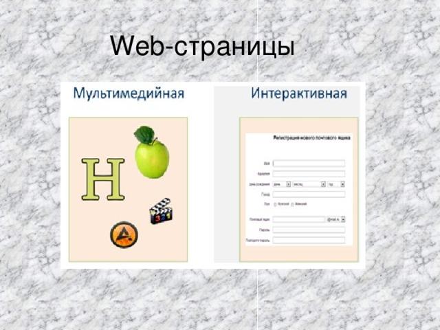 Web -страницы