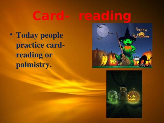 Card- reading