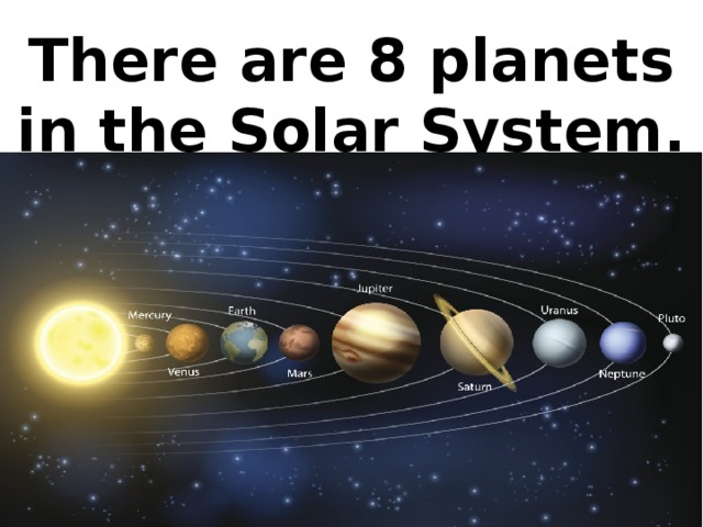 There are 8 planets in the Solar System.