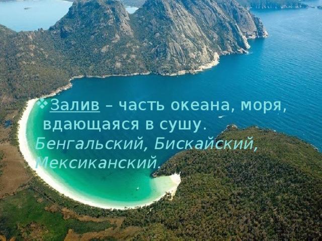 Залив