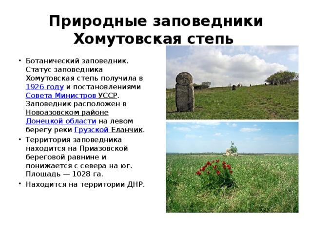 Реферат на тему заповедные места донбасса 3731