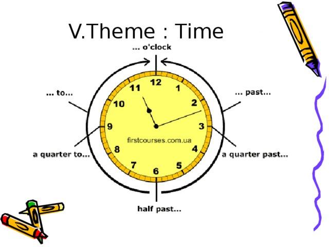 V.Theme : Time