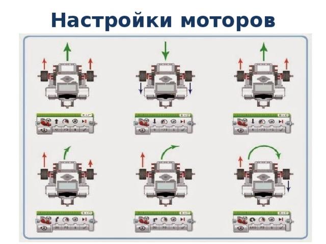 Настройки моторов