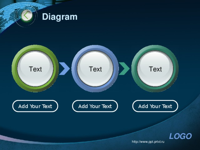 Diagram Text Text Text Add Your Text Add Your Text Add Your Text http://www.ppt.prtxt.ru