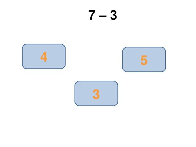 7 – 3 4 5 3