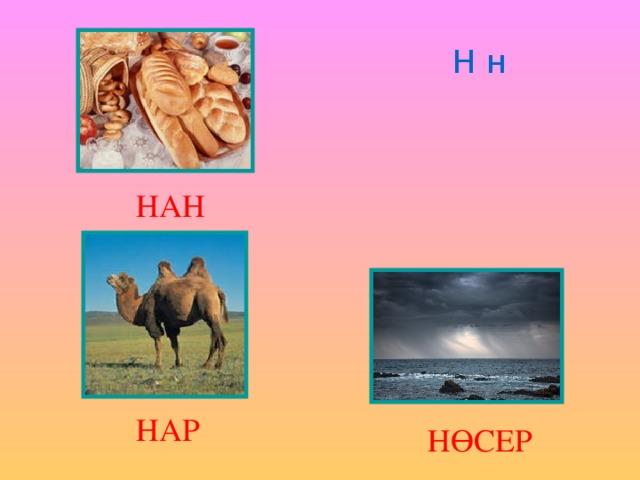 Н н НАН НАР НӨСЕР