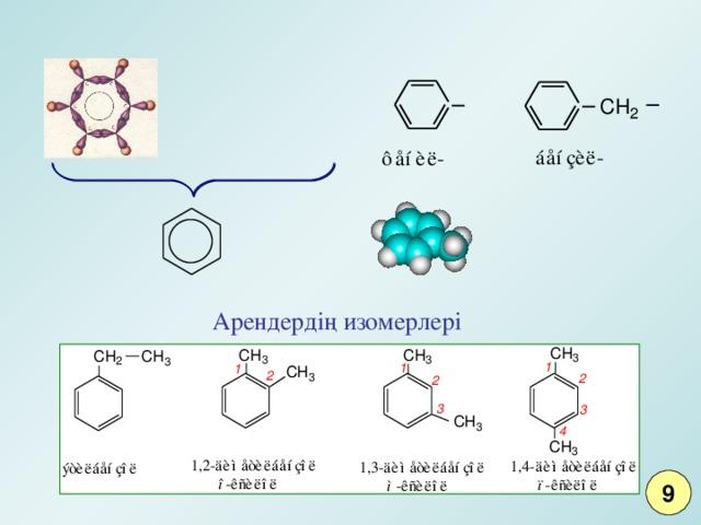 Арендердің изомерлері 9