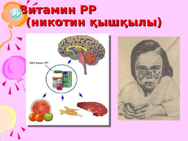 Витамин РР (никотин қышқылы)