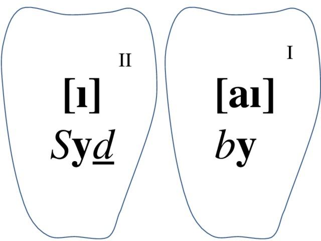 I II [ı] [aı] S y d b y