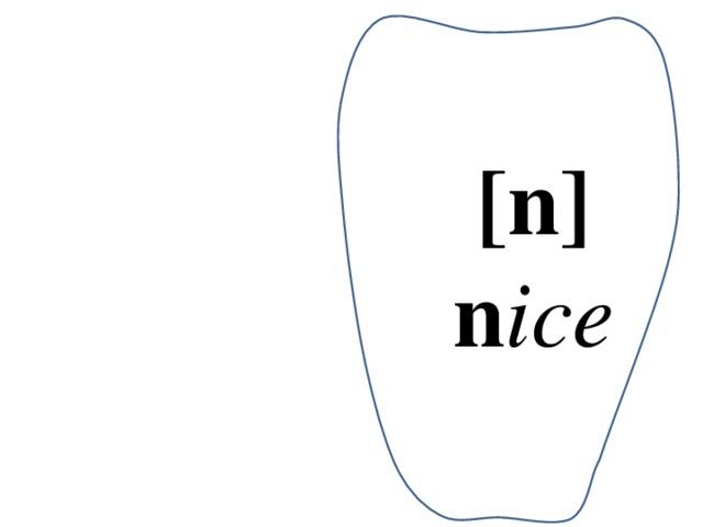 [n] n ice