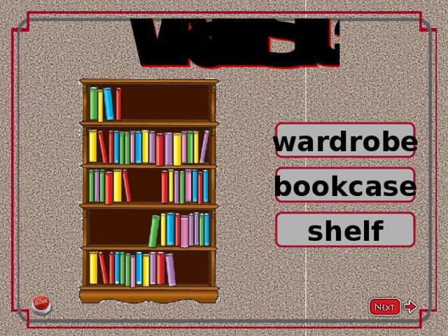 wardrobe bookcase shelf