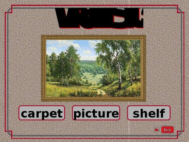 carpet picture shelf