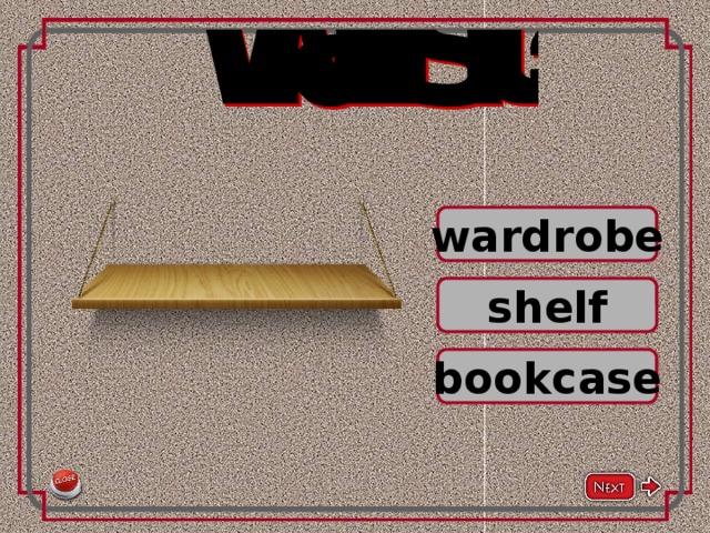 wardrobe shelf bookcase