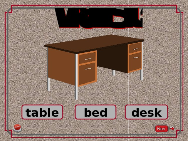 table bed desk