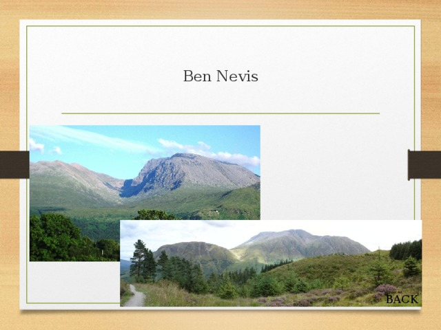 Ben Nevis BACK