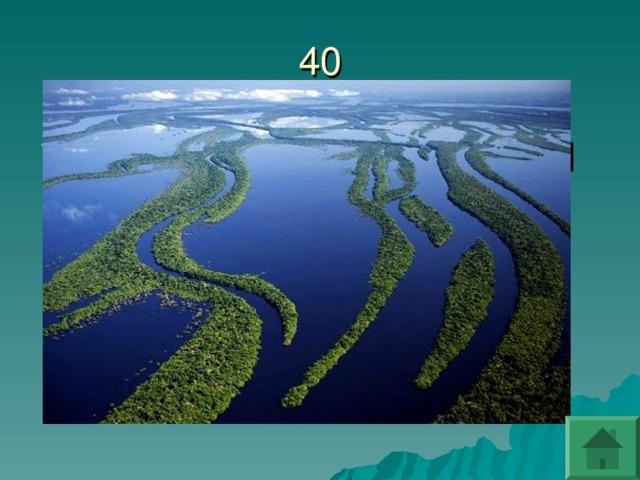 Какая река самая полноводная в мире?