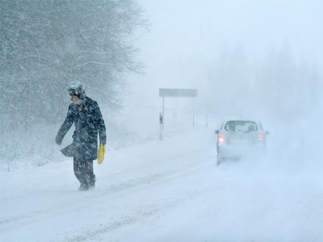 Снежный занос — это природное явление, связанное с обильным выпадением снега при скорости ветра свыше 15 м/с (54 км/ч) и продолжительности снегопада более 12 ч . Метель  — это перенос снега ветром в приземном слое воздуха. Часто метель сопровождается снегопадом. Пурга  — сильный ветер со снегопадом.