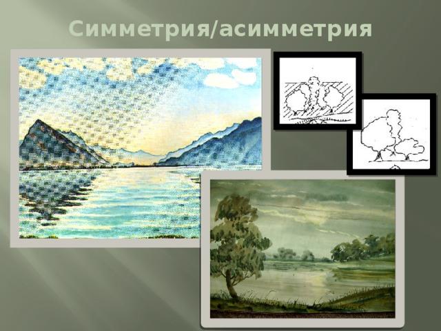 Симметрия/асимметрия