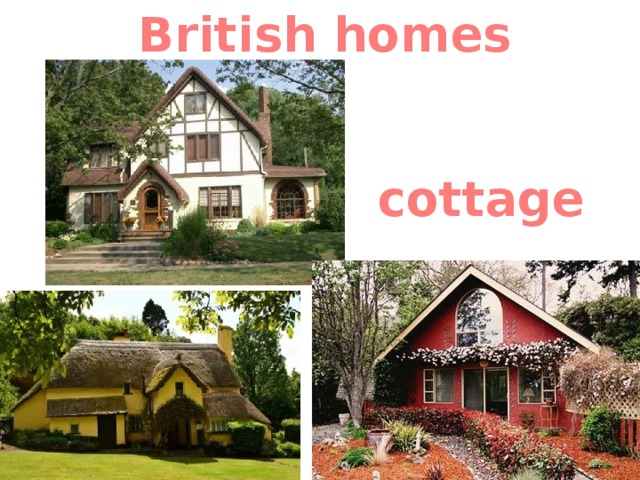 British homes cottage