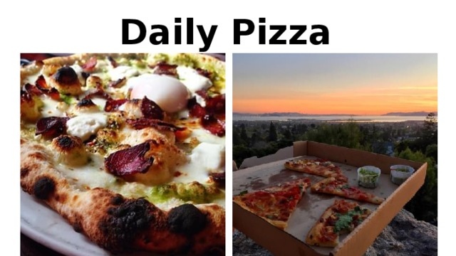 Daily Pizza