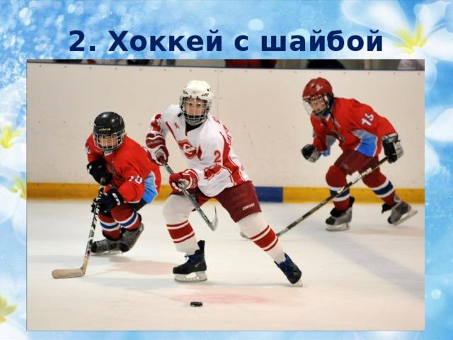 2. Хоккей с шайбой