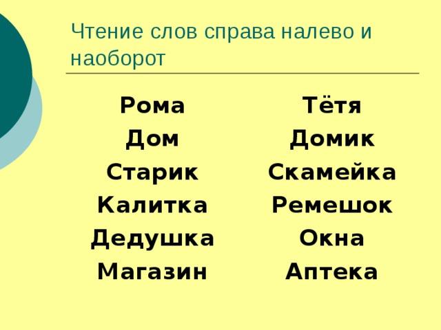 Рома Дом Старик Калитка Дедушка Магазин    Тётя Домик Скамейка Ремешок Окна Аптека