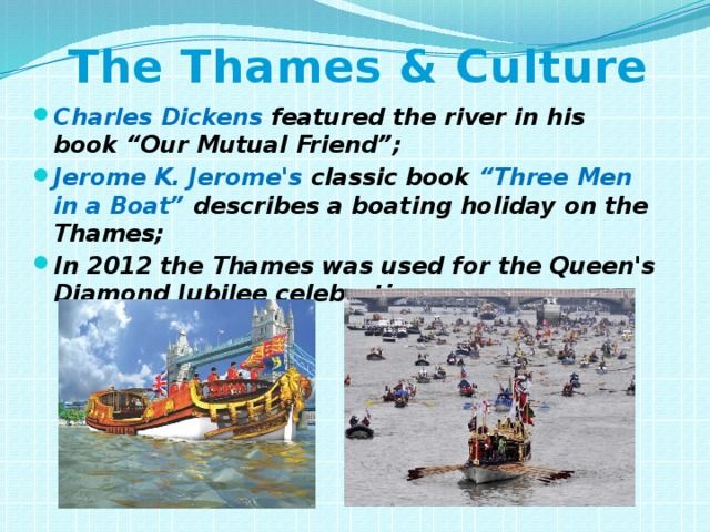 The Thames & Culture