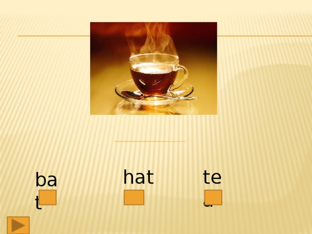 hat tea bat