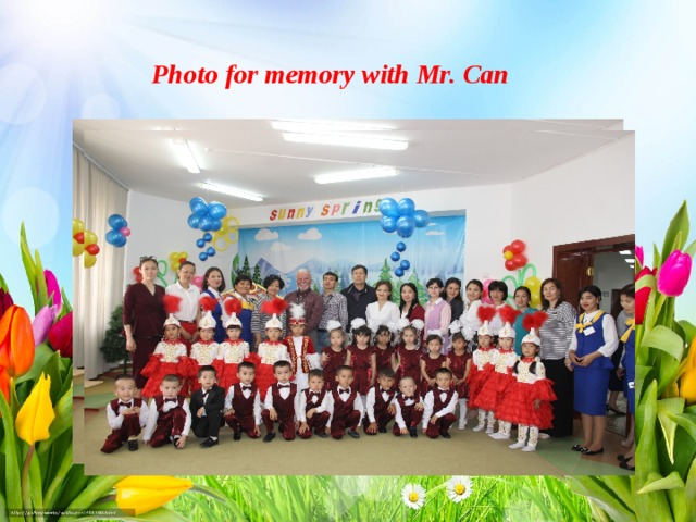 Photo for memory with Mr. Can