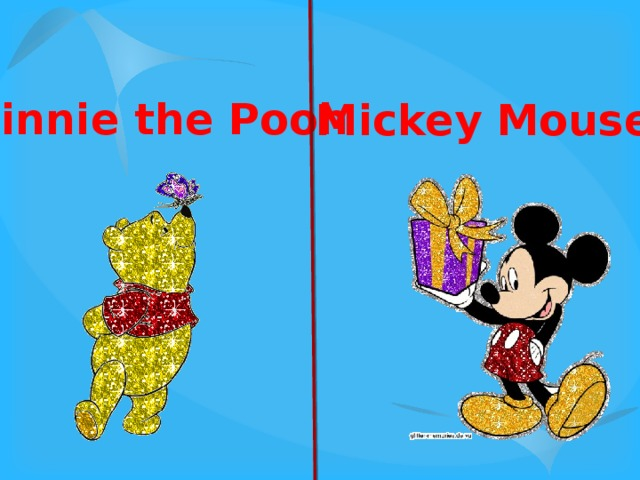 Winnie the Pooh Mickey Mouse