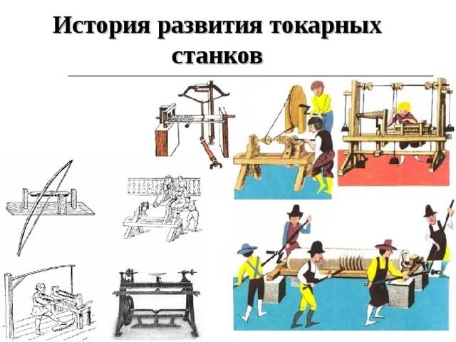 История развития токарных станков