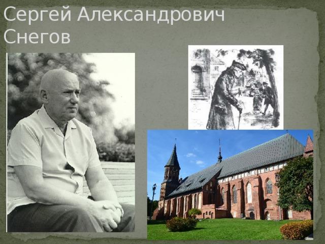 Сергей Александрович Снегов