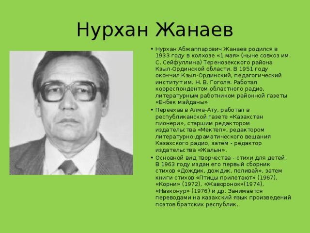 Нурхан Жанаев
