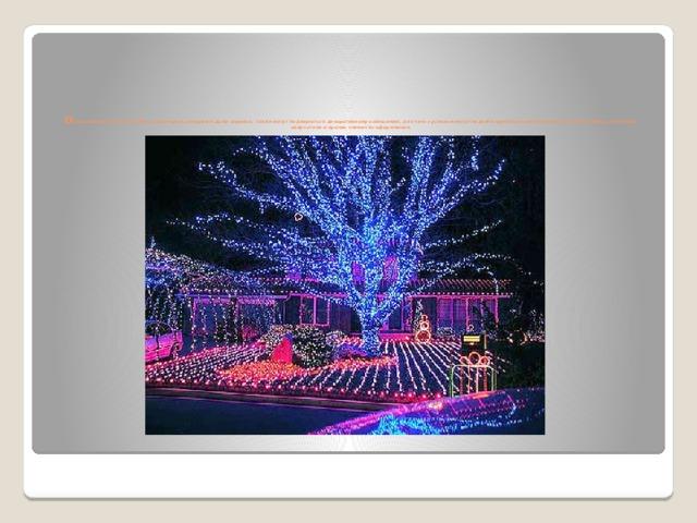 О свещение растений- клумбы, альпинарии, рокарии и даже деревья, также могут подвергаться декоративному освещению, для чего с успехом могут подойти грунтовые светильники, неоновые лампы, ленточные излучатели и прочие элементы оформления.