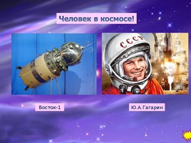Восток-1 Ю.А.Гагарин