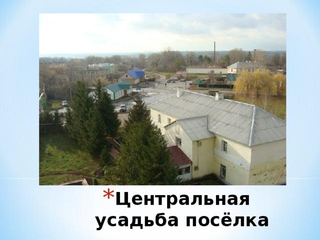 Центральная усадьба посёлка