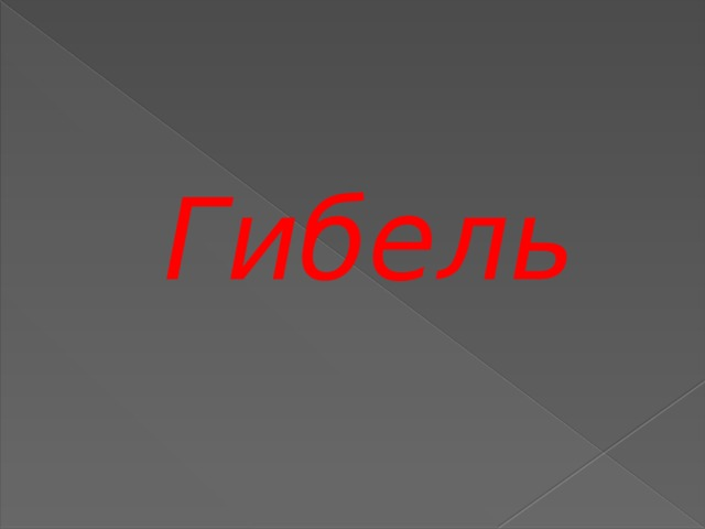 Гибель