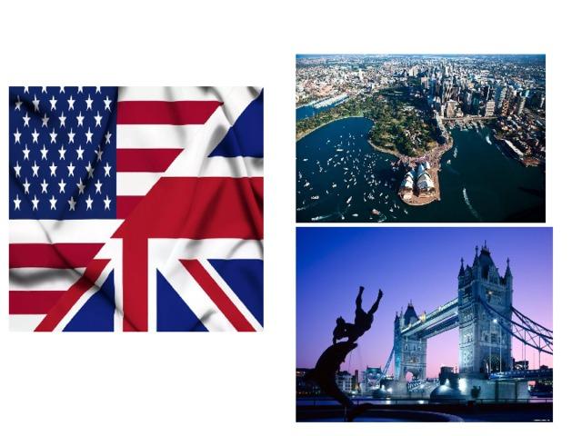 The USA, Britain, Australia