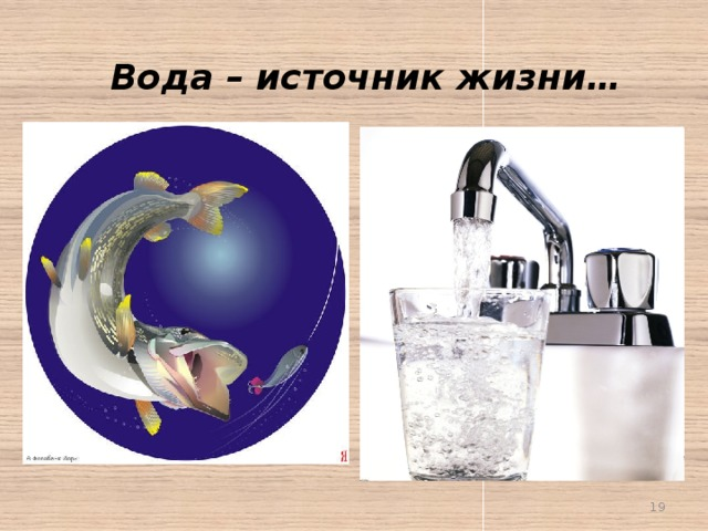 Вода – источник жизни…
