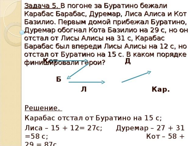 Решение задачи алиса и кот базилио g задач по физике решение