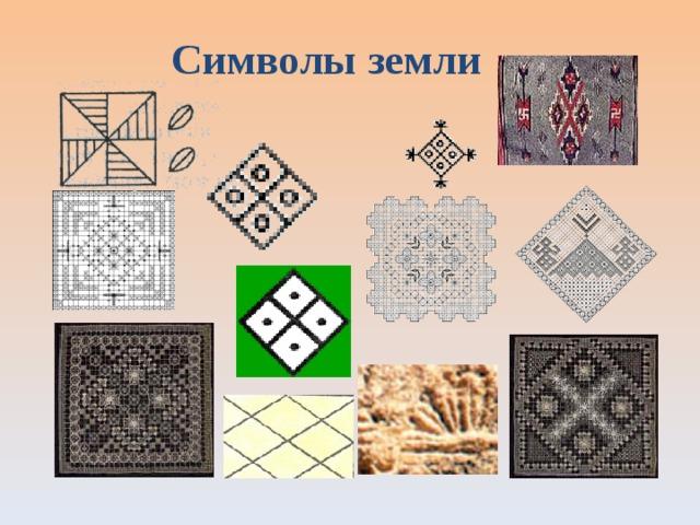 Символы земли