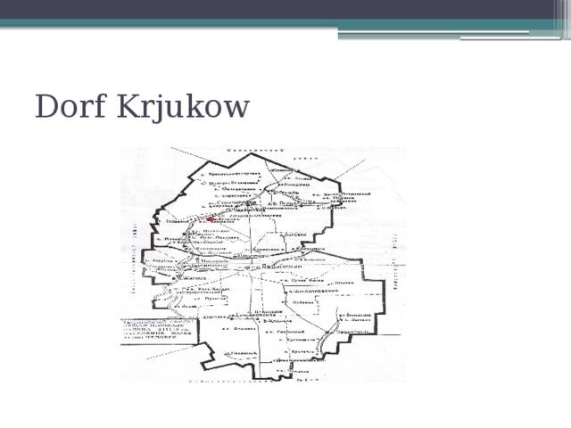 Dorf Krjukow