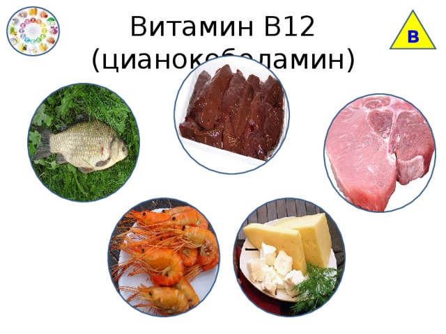 В Витамин В12 (цианокоболамин)