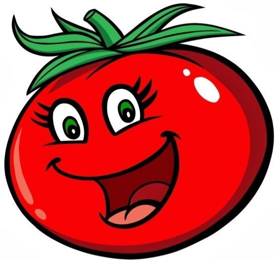 Прикольные картинки помидора с глазами, для