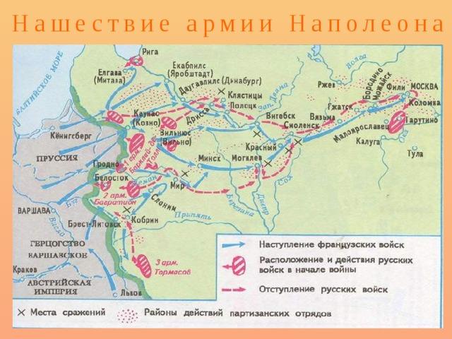 Нашествие армии Наполеона